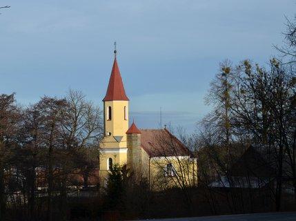 FOTKA - Gotick� kostel sv V�clava ze 14stolet� v Hrbokov�