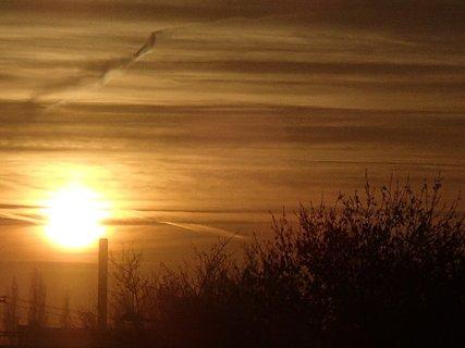 FOTKA - východ slnka 04.01.2013c
