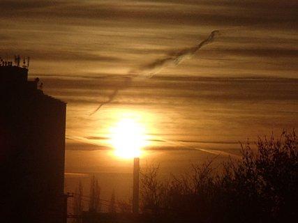 FOTKA - východ slnka 04.01.2013d