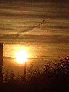 FOTKA - východ slnka 04.01.2013e