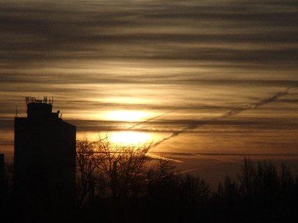 FOTKA - východ slnka 04.01.2013g