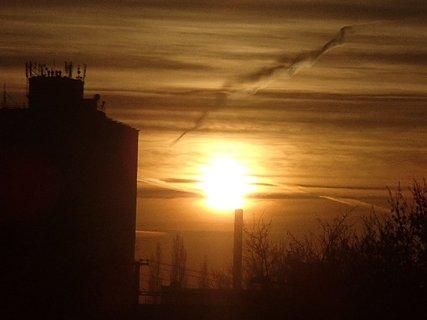 FOTKA - východ slnka 04.01.2013j