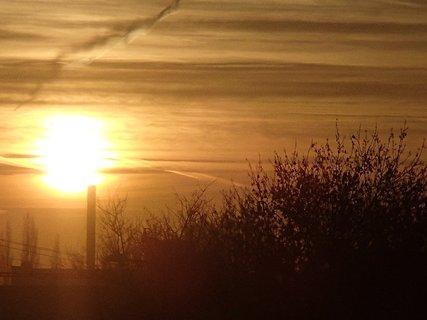FOTKA - východ slnka 04.01.2013k