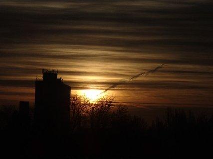 FOTKA - východ slnka 04.01.2013n