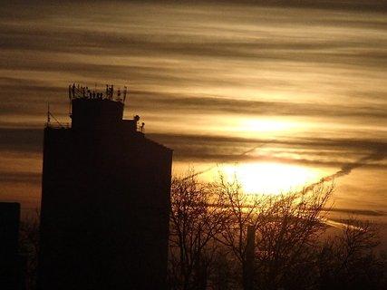 FOTKA - východ slnka 04.01.2013p