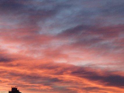 FOTKA - obloha ako v ohni