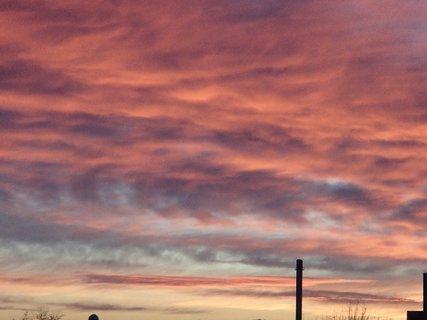 FOTKA - obloha ako v ohni.