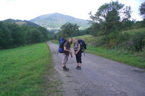FOTKA - Martina a manžel na vandru na Slovensku