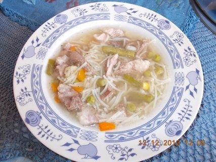 FOTKA - vzpomínky na 12.12. 2012-13-polévka s nudlemi