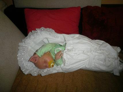 FOTKA - POhodlná poloha na spanie :-)