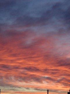 FOTKA - obloha opäť ako v ohni..
