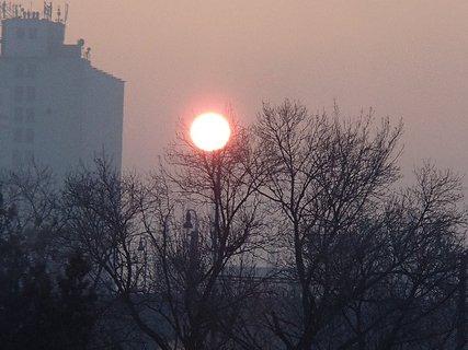 FOTKA - východ slnka 06.01.2013
