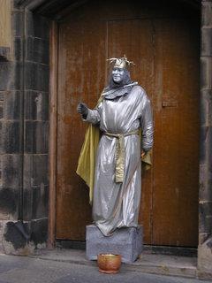 FOTKA - šašek nebo král, Skotsko