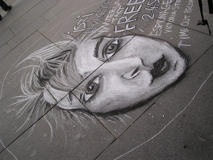 FOTKA - pouliční kresba, Skotsko
