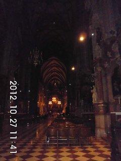 FOTKA - zájezd do Vídně 61, uvnitř katedrály