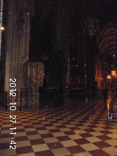 FOTKA - zájezd do Vídně 62, uvnitř katedrály