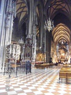 FOTKA - zájezd do Vídně 63, uvnitř katedrály