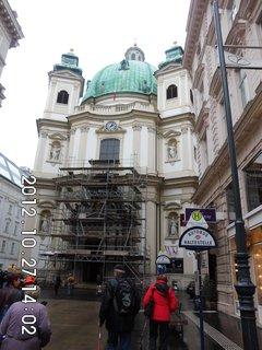FOTKA - zájezd do Vídně 74, kostel Sv. Petra