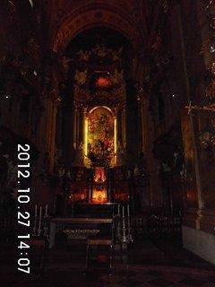 FOTKA - zájezd do Vídně 75, uvnitř kostela Sv. Petra