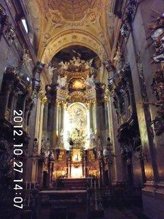 FOTKA - zájezd do Vídně 76, uvnitř kostela Sv. Petra