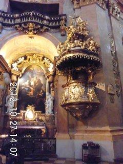 FOTKA - zájezd do Vídně 77, uvnitř kostela Sv. Petra