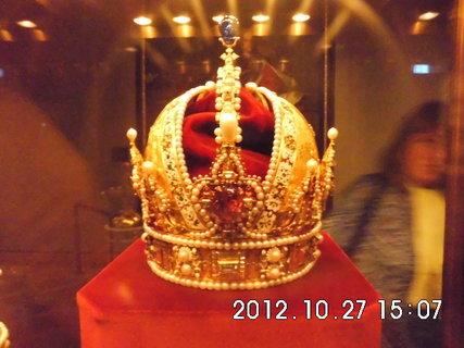 FOTKA - zájezd do Vídně 101, Hofburg, klenotnice