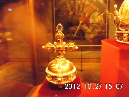 FOTKA - zájezd do Vídně 102, Hofburg, klenotnice