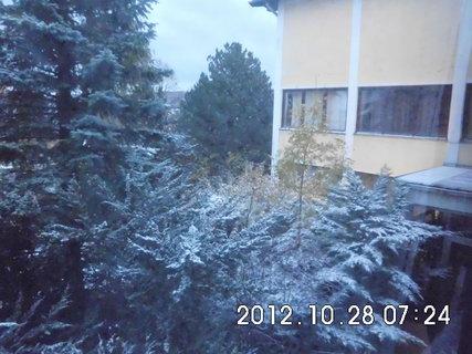 FOTKA - zájezd do Vídně 133, pohled z okna pokoje