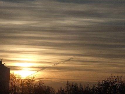 FOTKA - dnešný východ slnka 11.01.2013