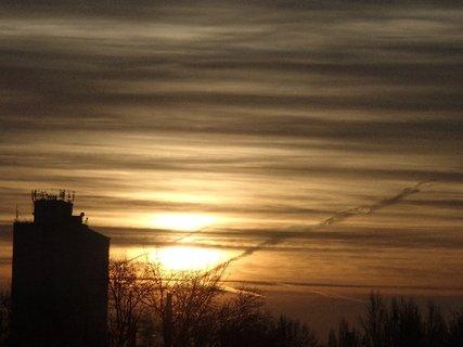 FOTKA - dnešný východ slnka 11.01.2013a