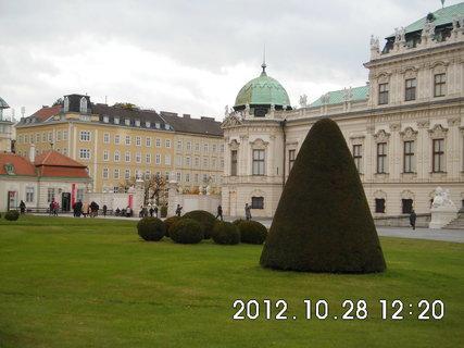 FOTKA - zájezd do Vídně 157, Belvedere