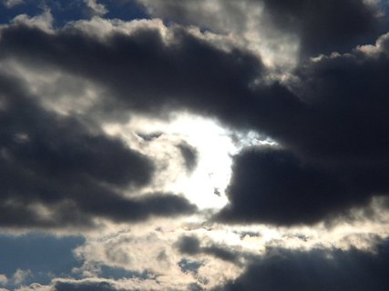FOTKA - slnko za mrakmi..