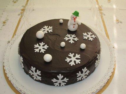 FOTKA - Nedělní dezert - Zimní pařížský dort