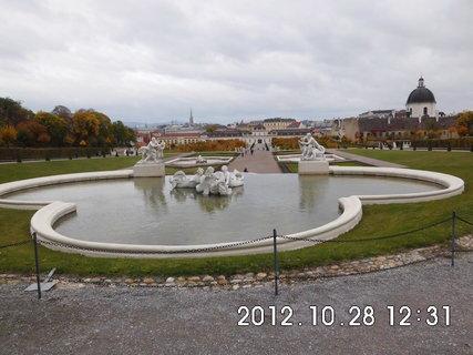 FOTKA - zájezd do Vídně 166, Belvedere