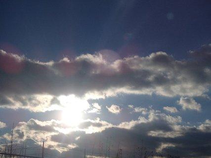 FOTKA - slniečko sa snažilo vykúkať, ale mraky boli neúprosné