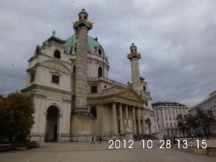 FOTKA - zájezd do Vídně 192, Karlskirche