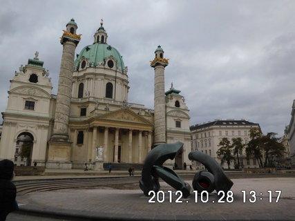 FOTKA - zájezd do Vídně 193, Karlskirche