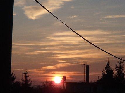 FOTKA - západ slnka 13.01.2013 a