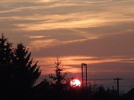 FOTKA - západ slnka 13.01.2013 c