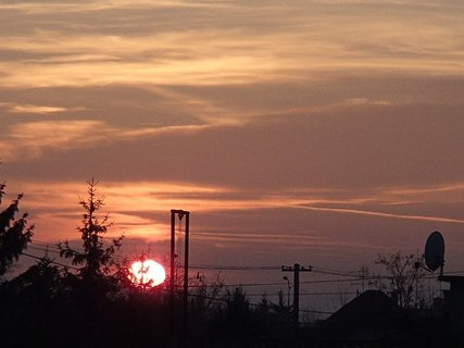 FOTKA - západ slnka 13.01.2013 e