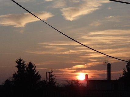 FOTKA - západ slnka 13.01.2013 f