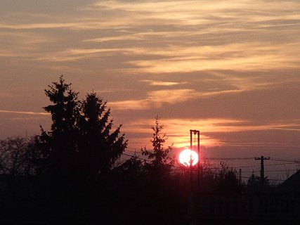 FOTKA - západ slnka 13.01.2013 i