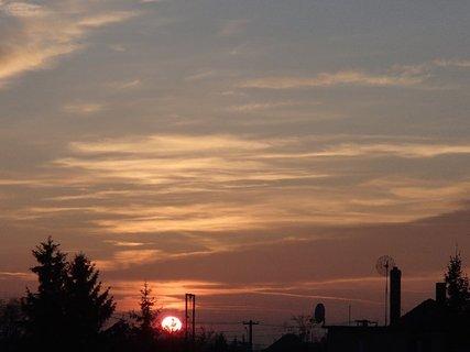 FOTKA - západ slnka 13.01.2013 j