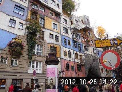FOTKA - zájezd do Vídně 222, zajímavé fasády