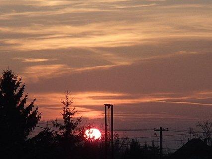 FOTKA - západ slnka 13.01.2013 k