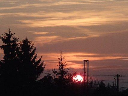 FOTKA - západ slnka 13.01.2013 l