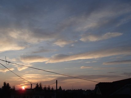 FOTKA - západ slnka 13.01.2013 m