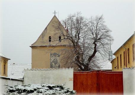 FOTKA - Opuštěný kapucínský klášter (kostel sv.Václava)