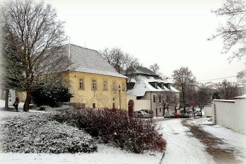 FOTKA - Historické domy u náměstí