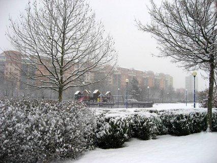 FOTKA - Zima na sídlišti 5